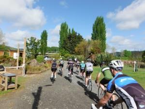 Departing Taumaranui Holiday Park
